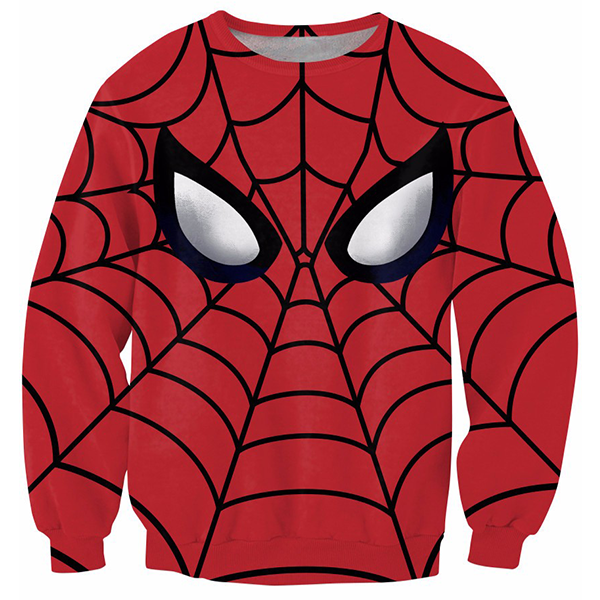 Spiderman 3D Printed Shirts