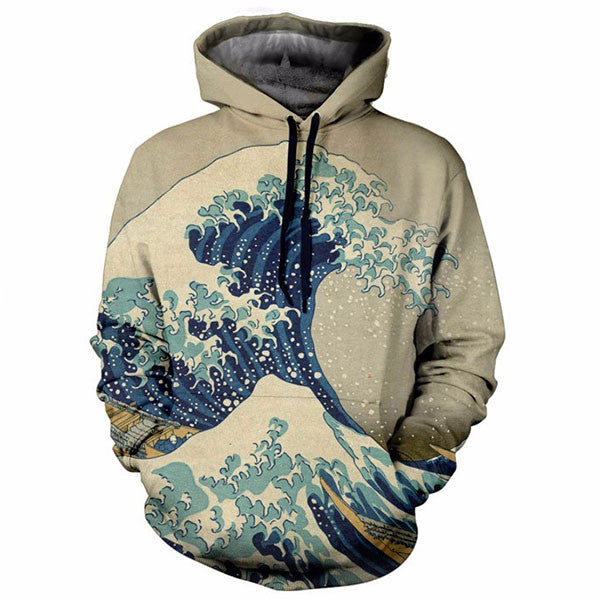 The Great Wave 3D Shirts