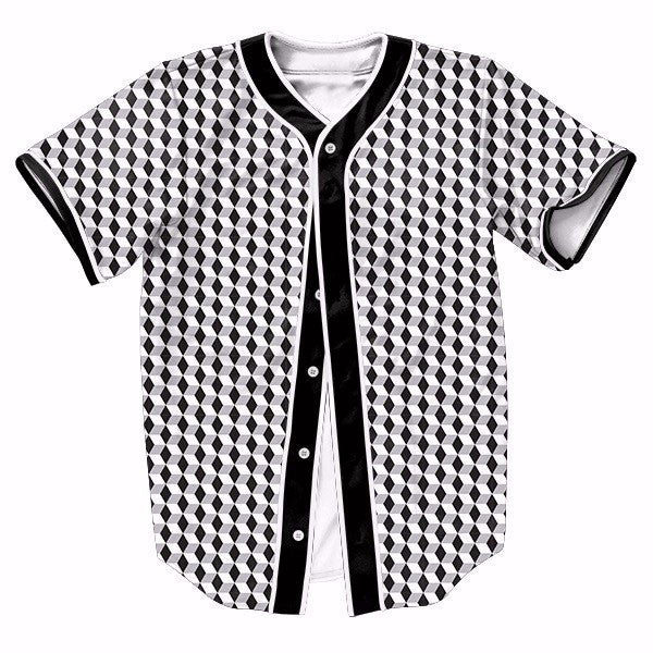 Black White Gray Quilted New Shirts