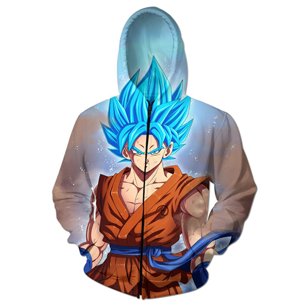 Goku God 3D Printed Shirts