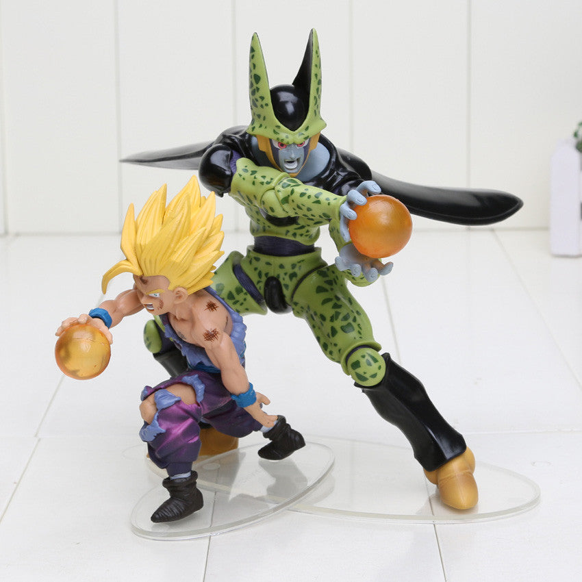 Dragon Ball Z Son Gohan VS Cell PVC Toy