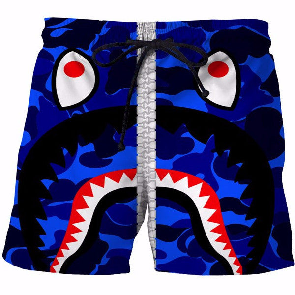 Shark Big Teeth Shorts