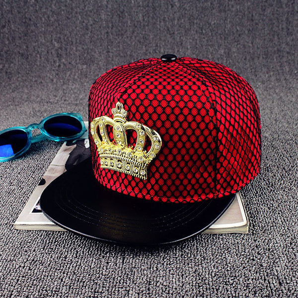 Golden Diamond Crown Hat