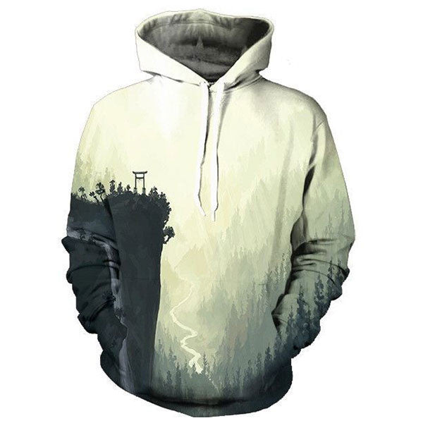 Scenery Forest Painting 3D Shirts