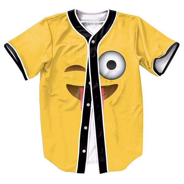 Emoji Wink Eyes Yellow New Shirts