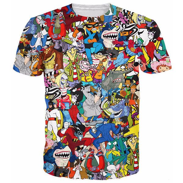 Pinky The Brain Space Ghost Shirts
