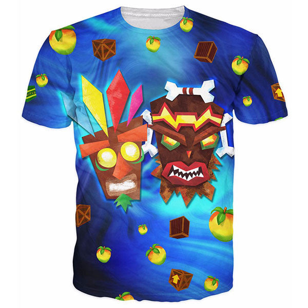 Aku Uka Warp Zone Prints Shirts
