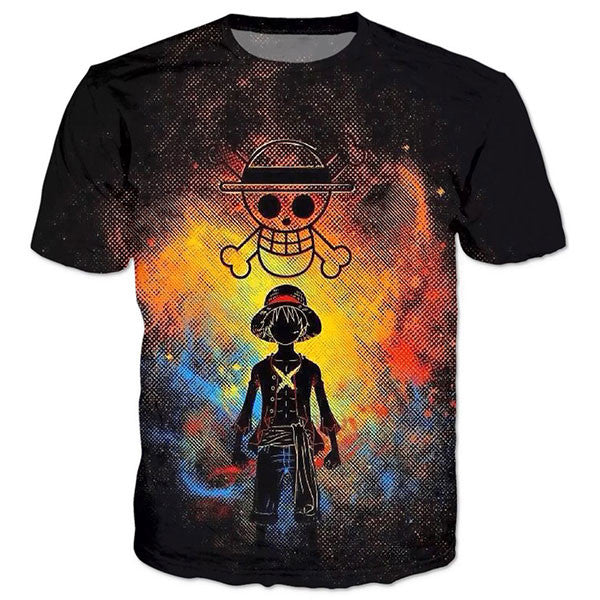 Black Luffy Shirts