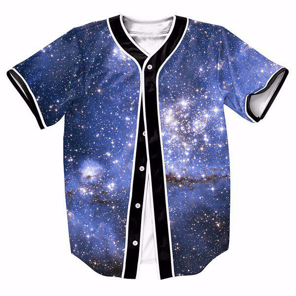 Blue Galaxy Cool New Shirts