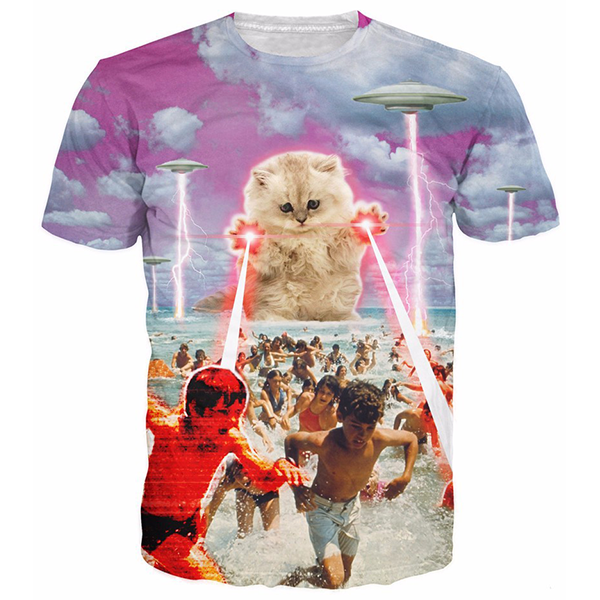 Beach Cat Shirts