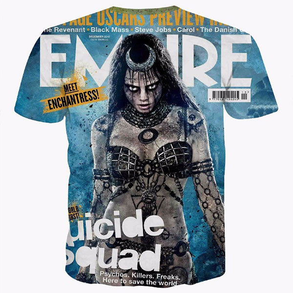Enchantress Suicide Squad 3D Shirts