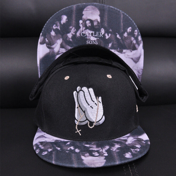 Pray Hip Hop Hat