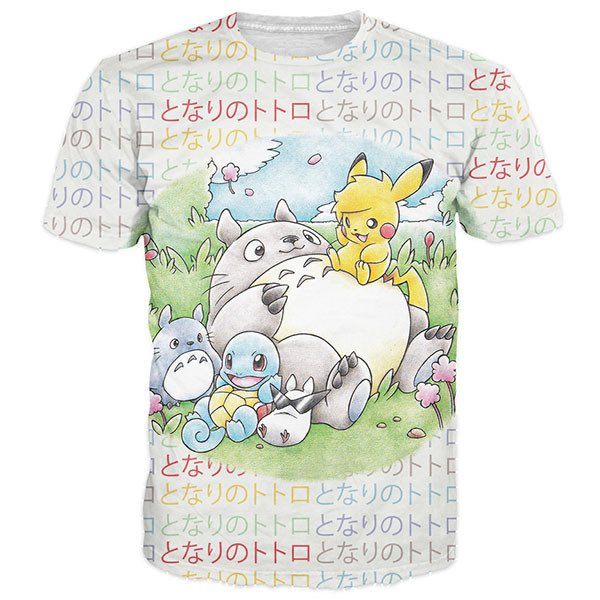 Totoro And Friends Shirts
