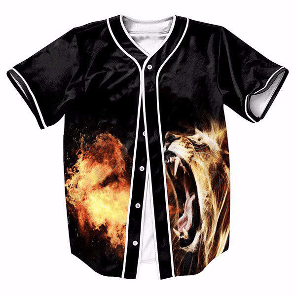 Lions With Fire New Shirts