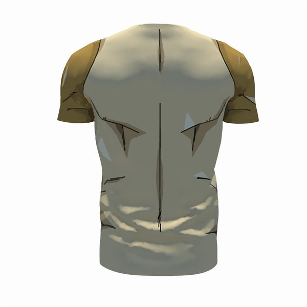 Golden Frieza 3D Printed Shirts