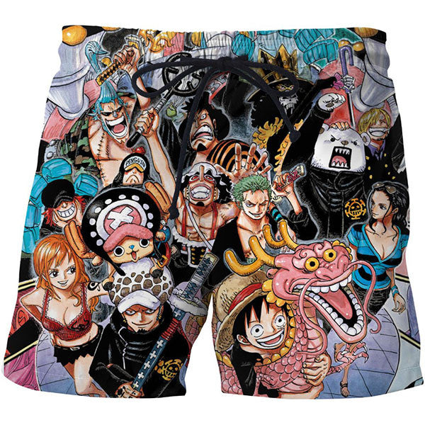 One Piece New Shorts