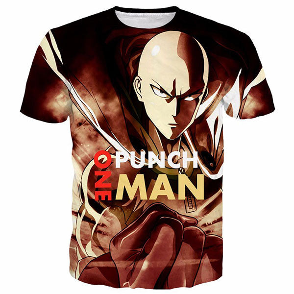 One Punch Man 3D Shirts