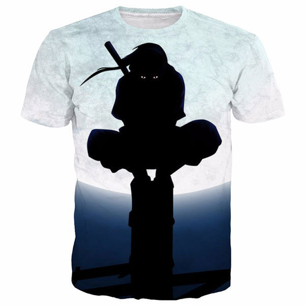Moon Night Uchiha Itachi 3D Shirts