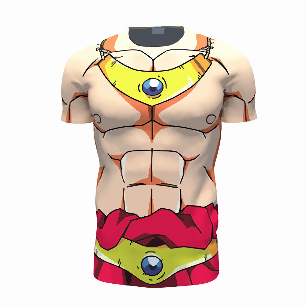 Broly Armour 3D Printed Shirts