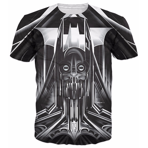 Techno Batman Printed Shirts