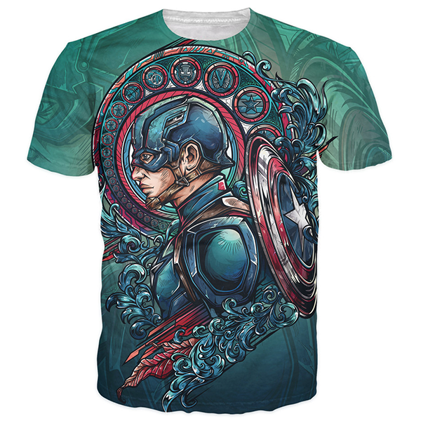 Captain America JML2ART Shirts