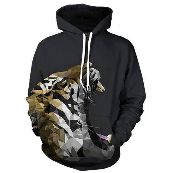 Abstract Tiger Roar 3D Shirts