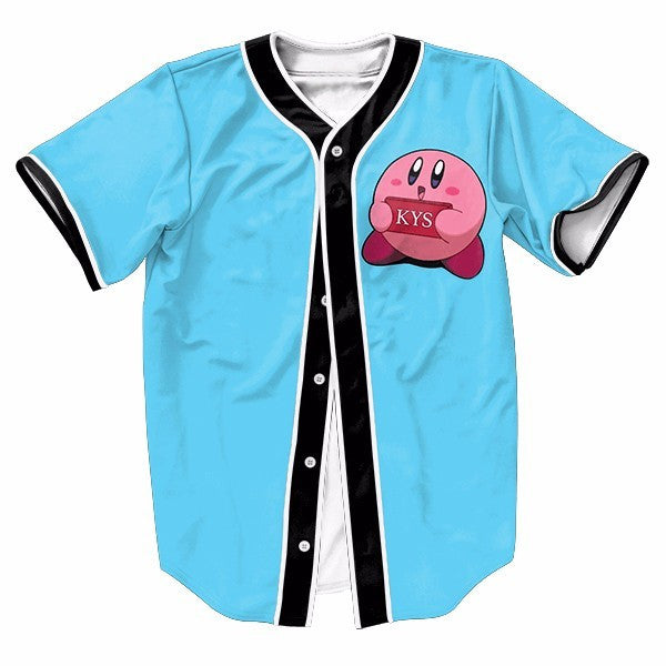 Kirby Kill Yourself Blue New Shirts