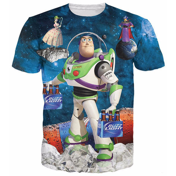 Buzz Light Beer Shirts