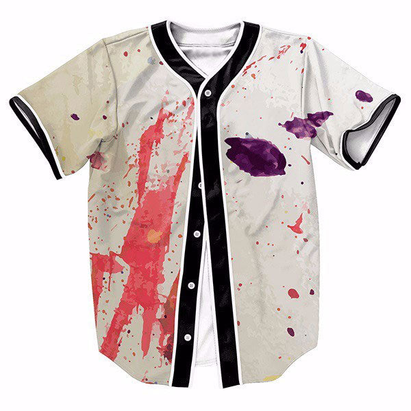 Ink Splashes Graffiti Summer New Shirts