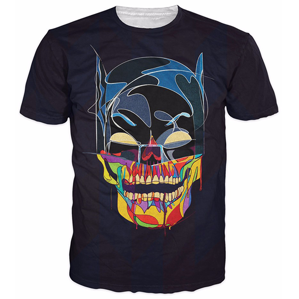 Skull Batman 3D Printed Shirts