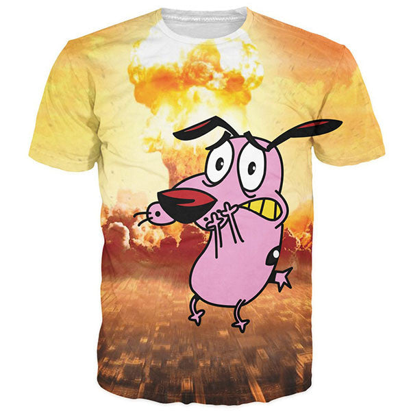 Courage the Cowardly Dog Shirts