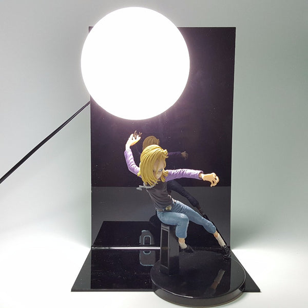 Android 18 Dragon Ball 3D Lamp