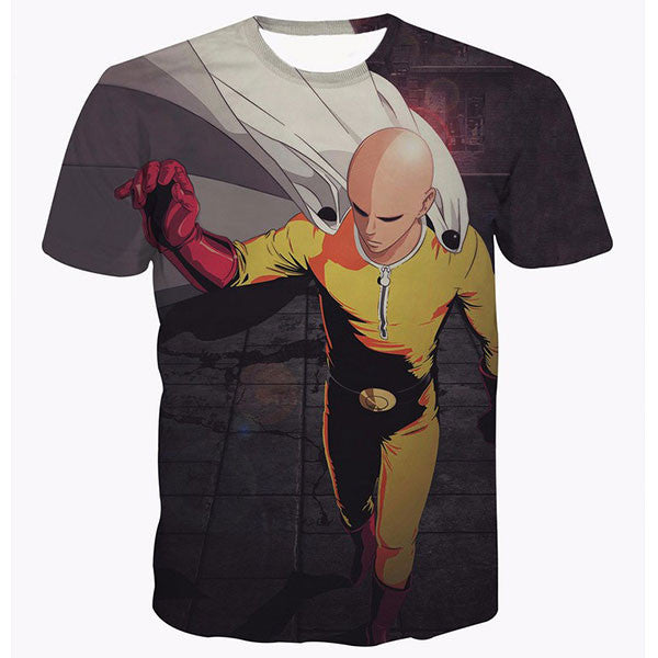 One Punch Man Printed Shirts