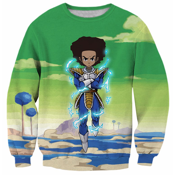 Vegeta Green Printed Shirts