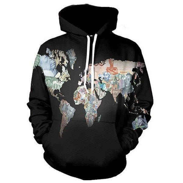 Map Human Head 3D Shirts