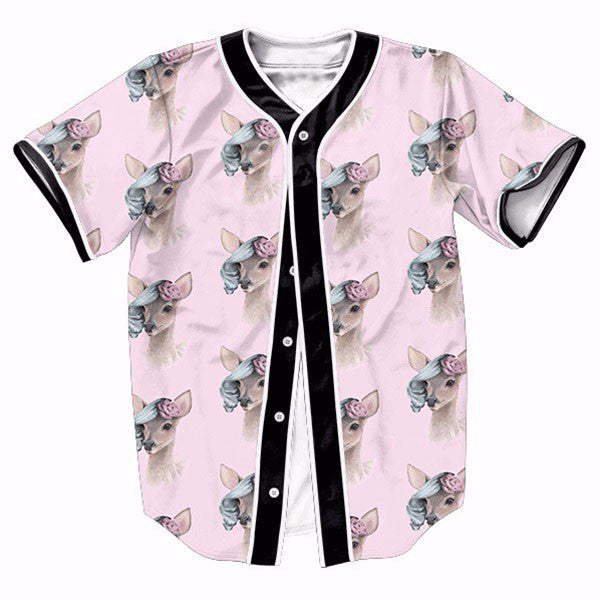 Pink Bambi Cute New Shirts
