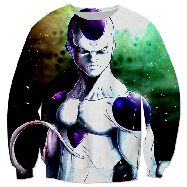 Frieza Green 3D Printed Shirts