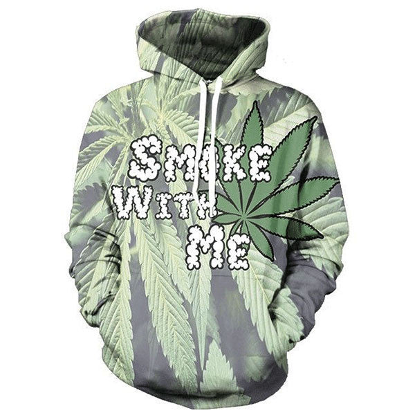Smoke With Me 3D Shirts