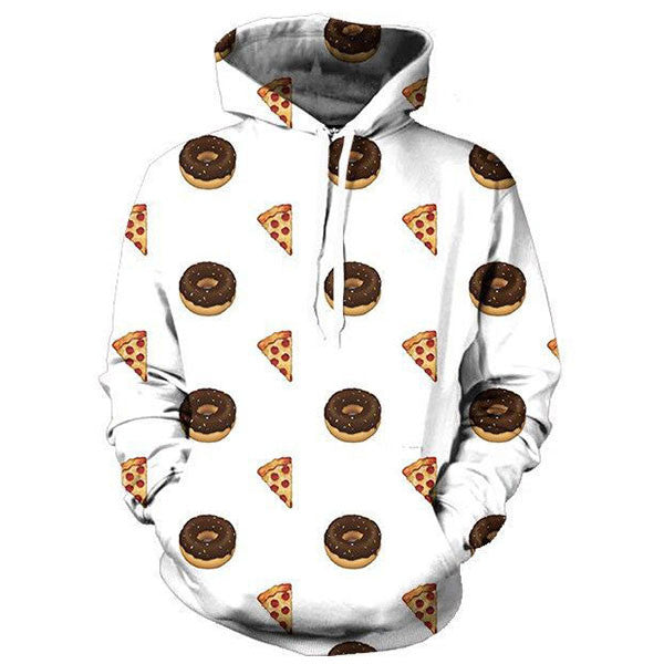 Donuts And Pizza 3D Shirts