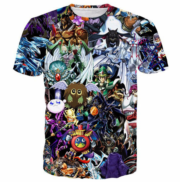 Funny Duel Monsters Elf Prints Shirts