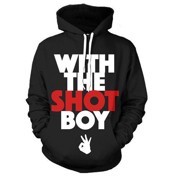 With The Shot Boy 3D Shirts