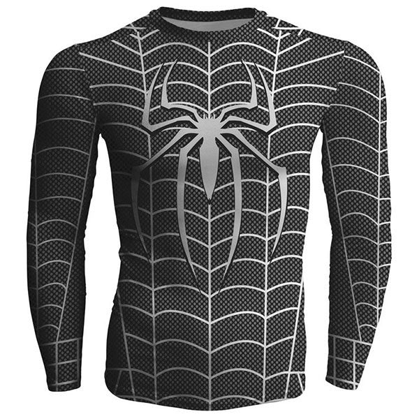 Spider Man Fitness Shirts
