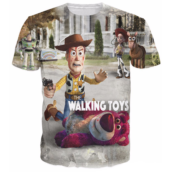 Walking Woody Lotso 3D Printed Shirts