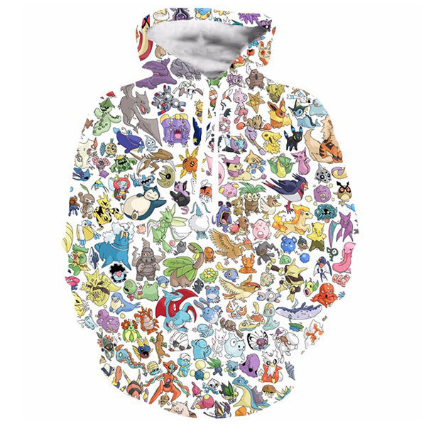 Pokemon Pet Paparazzi Prints Shirts