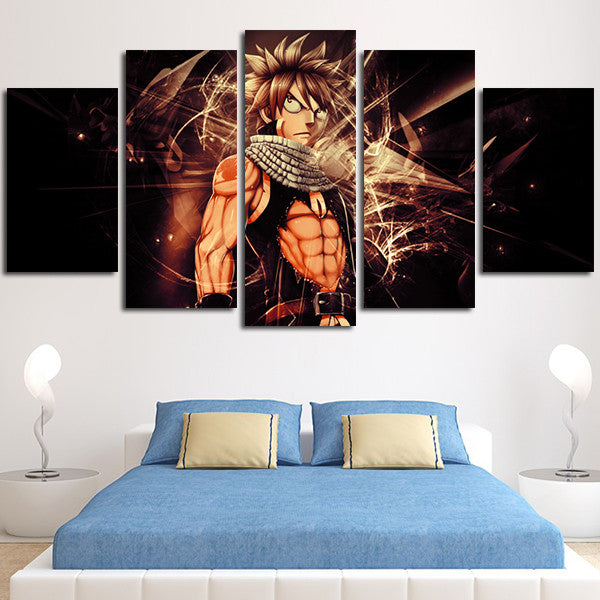 Fairy Tail Natsu Wall Art Canvas