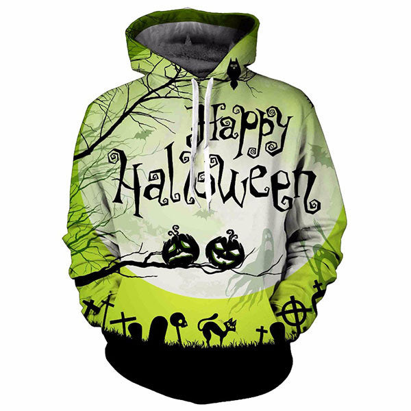Happy Halloween Letters 3D Shirts