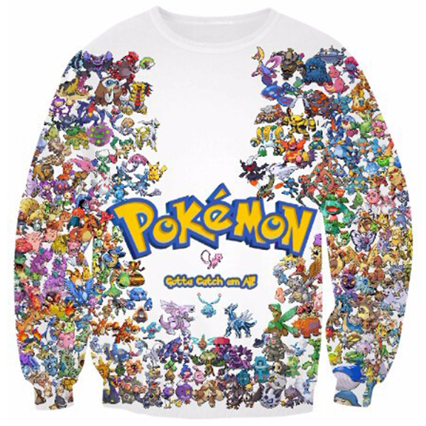 Pokemon Gotta Catch Printed Shirts