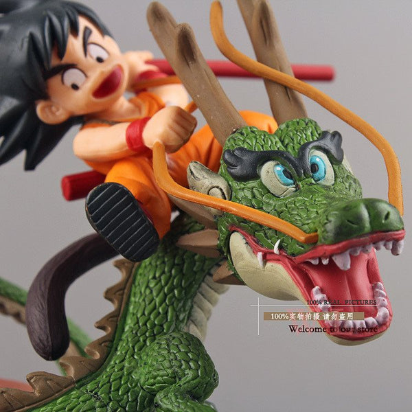 Son Goku Dragon Riding Figures 3D Toy