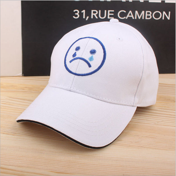 Crying And Smiling Icon Hat