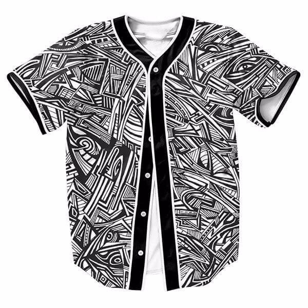 Black And White Abstract Background New Shirts